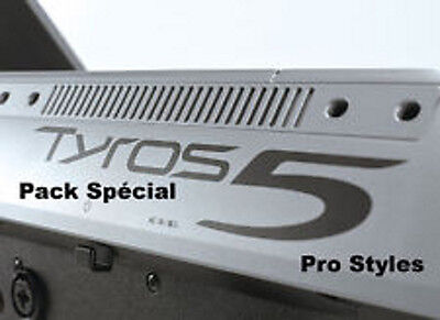 "Styles pour YAMAHA Tyros  5   ""Top Hit's""- Download/USB Stick"