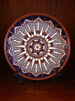 Greek sun plate 25cm by Bonis Pottery