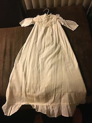 Vintage Victorian Long Baby Dress