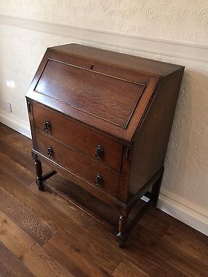 Bureau medium oak, good condition.