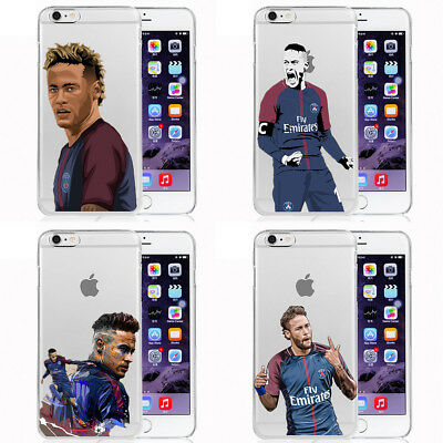Football Soccer PSG #10 Neymar JR Silicone iPhone Cover case for all iPhone