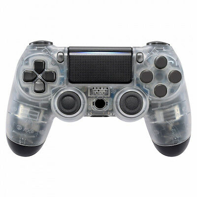 PS4 Controller Cover Case Gehäuse Front Transparent Slim Pro JDM-040 (LED MODS)