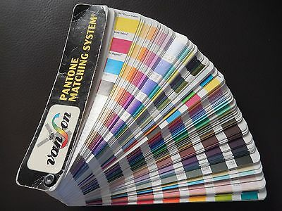 Pantone Matching System Color Formula 11th Printin 1997-1998 Coated and Uncoated