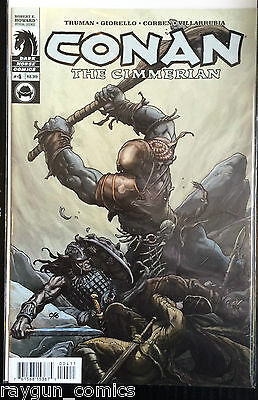 Conan The Cimmerian #4 VF NM- 1st imprimé dark cheval Comics