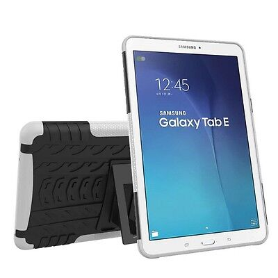 Hybrid Outdoor Protective Case White for Samsung Galaxy Tab E 9.6 SM T560 Pouch
