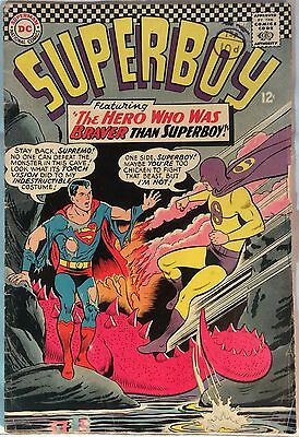 Superboy #132 (1St Series) 1966. Vg+ Condition. 49 Years Old.