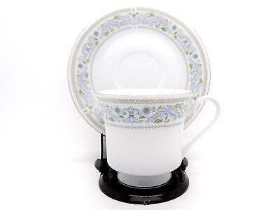 Crown Ming Fine China Princess Footed Cup and Saucer Set