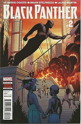 Black Panther #2 | VF/NM | 1st PRINT | Midnight Angels |  Marvel Comics 2016 • $1.50