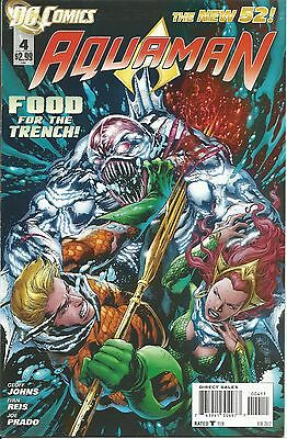 Aquaman #4 New 52 | VF/NM | The Trench | DC Comics