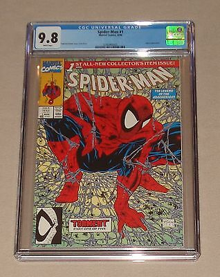 Spider-man Torment #1 Green Edition, CGC 9.8,  **MINT**  McFarlane at his best!