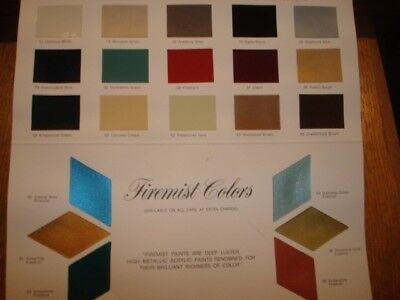 1976 Cadillac Exterior Color Selections Chart, Dealer Pamphlet,   (BB)