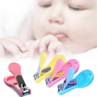 Baby Nail Clippers Safety Cutter Care Toddler Infant Scissors Manicure Set LJ