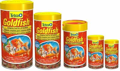 Tetra Tetrafin Goldfish Fish Flakes 15g 20g 52g 100g 200g Aquarium Fish Tank