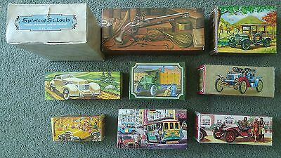 9 Full Avon Vintage Collectible Bottles NIB New In Box Spirit of St. Louis &MORE • $40.00