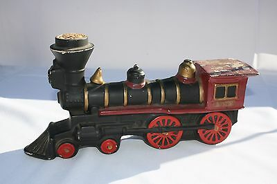 VINTAGE COMMEMORATIVE TRAIN Whiskey Decanter Made by B.Harness for