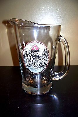 Pete's Wicked Ale Glass Beer Bar Pitcher Large