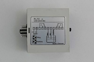 C-mac Universal Level Control Relay RL10-2-0-024