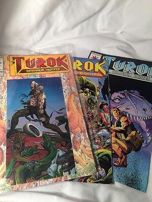 Turok, Dinosaur Hunter (1993) #1, 2, 4 Valiant Comic Lot • $0.99