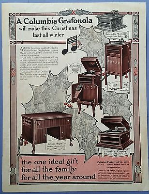 A Columbia Grafonola                     1912 The Christian Herald Advertisement