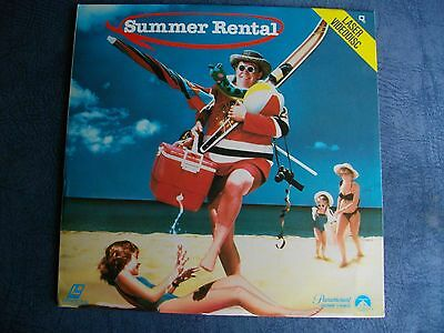 SUMMER   RENTAL > John   Candy - Comedy  > RARE > LASERDiSC  > GOOD   CONDiTiON