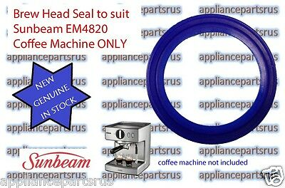 Sunbeam EM4820 ONLY Brew Head Seal - Part No EM482015 - NEW - GENUINE - IN STOCK