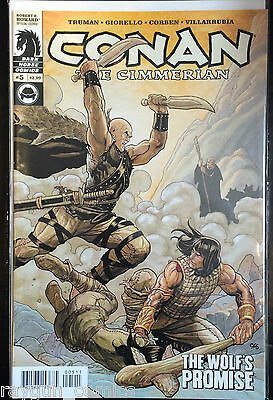 Conan The Cimmerian #5 VF NM- 1st imprimé dark cheval Comics