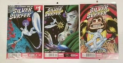 Silver Surfer #1, 2, 3 (2013) 1ST PRINT NM