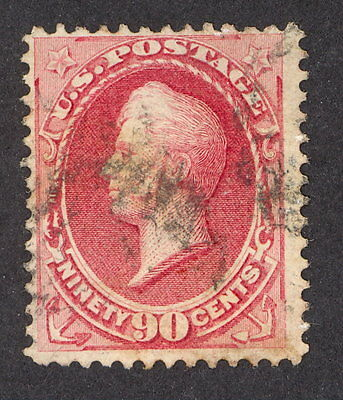 USA, 1870, 90 cents Perry, Mi 46, NBN Druck