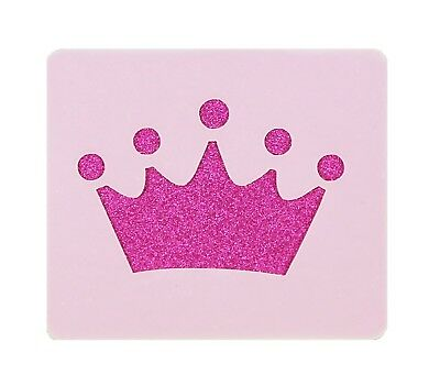 Princess Crown Face Painting Stencil 6cm x 7cm 190micron Washable Reusable