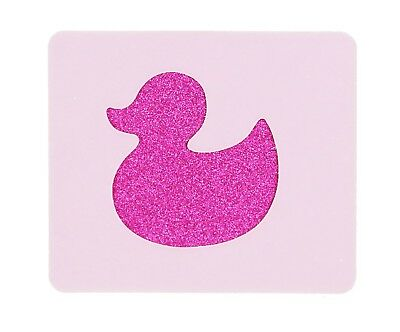 Small Duck Face Painting Stencil 6cm x 7cm 190micron Washable Reusable