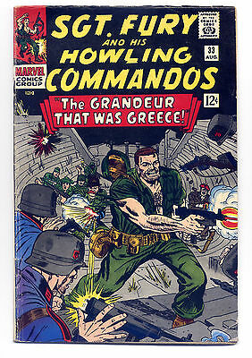 Sgt. Fury and His Howling Commandos #33 G/VG 1966 ~ Marvel Comic Book