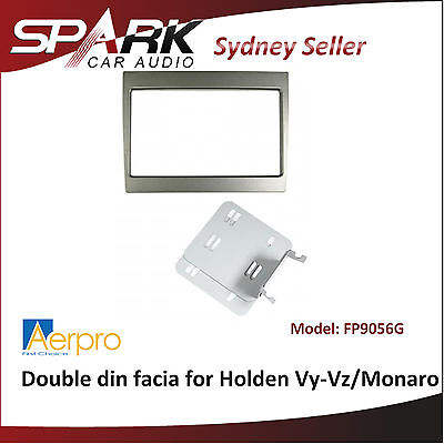 ADRO Aerpro Double din facia for Holden VY/VZ Commodore/Monaro FP9056G