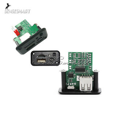 5V 7-12V Mini MP3 Player Module with USB+IR Remote Controller for Car