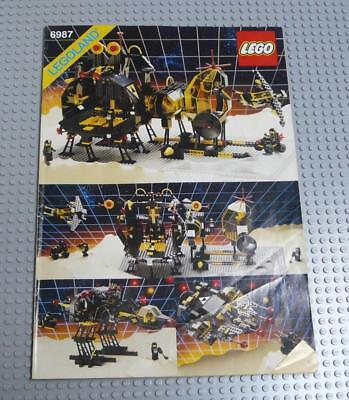 LEGO INSTRUCTIONS MANUAL BOOK ONLY 6987 Message Intercept Base x1PC