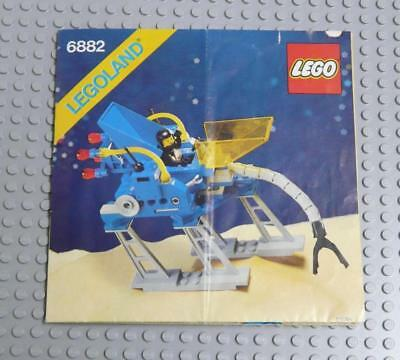 LEGO INSTRUCTIONS MANUAL BOOK ONLY 6882 Walking Astro Grappler x1PC