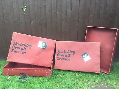 Sketchley Overall Service Delivery/storage Boxes