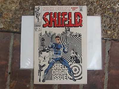 NICK FURY AGENT OF SHIELD #4 Marvel Comic