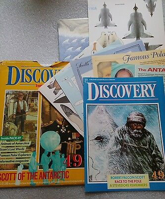 Marshall Cavendish Discovery Collection Magazine Pack 49 Scott of the Antarctic