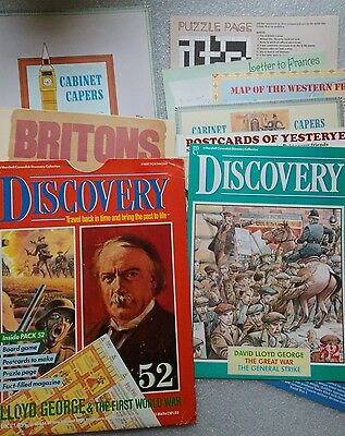 Marshall Cavendish Discovery Collection 52 Lloyd George & The First World War