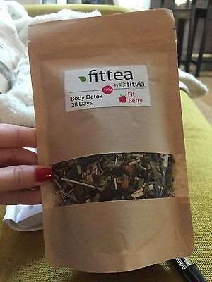 Fit Berry Body Detox Fittea 28 jours