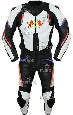 EV Motorcycle / Motorbike 2Pcs Leather  Suit - new design