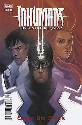 Inhumans Once Future Kings #1 (Of 5) 1St Printing Scarce 1:10 Noto Variant Cover