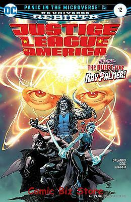 Justice League Of America #12 (2017) 1St Printing Dc Universe Rebirth