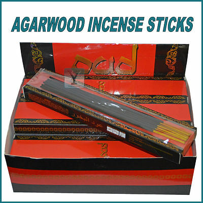 Oudh Incense Sticks Bakhoor Top Quality Oud Agarwood Scent Arabian Oriental