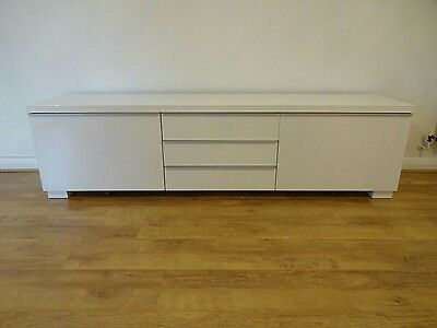 Medium sized sideboard picclick uk for White gloss sideboards at ikea