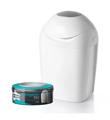 Tommee Tippee Sangenic Baby Nappy Disposal System Bin Tub FAST EXPRESS DELIVERY!