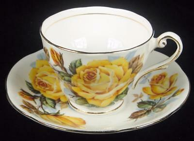 Royal Standard Yellow 'Rose of Picardy' Fine Bone China Small Cup & Saucer