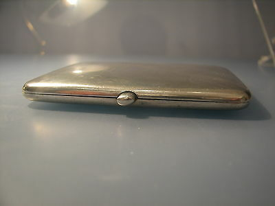 Top quality 1906 Sampson Mordan silver cigarette case or business card case