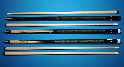 "Onlyl Full Set""Fast Eddie""Cues-Signed-Original Drawings-Never Used-Woodworth Cue"