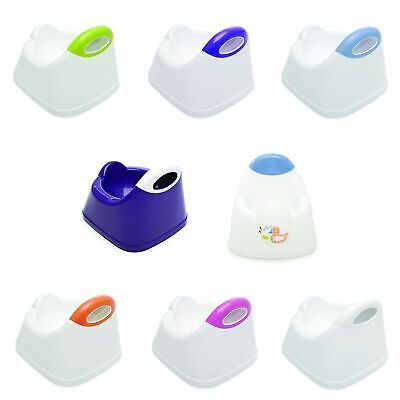 The Neat Nursery Co. Toilet Training Potty With Shaped Seat - Plum / White